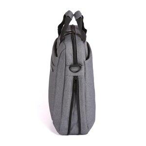 """Image 2 - Kingsons للماء 12.1 13.3 14.1 15.6 17.3 بوصة حقيبة لابتوب للرجال النساء حقيبة كمبيوتر محمول حالة الكتف حقيبة ساعي 17"""""""