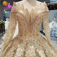 AIJINGYU Wedding Dresses In Dubai Luxurious Dress Gothic Real Sample Veil Muslim In Dubai 2019 Gown Buy Wedding Gowns Online