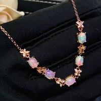 Natural and real OPal Bracelets 925 sterling silver Fine jewelry gems Fashion Bracelets