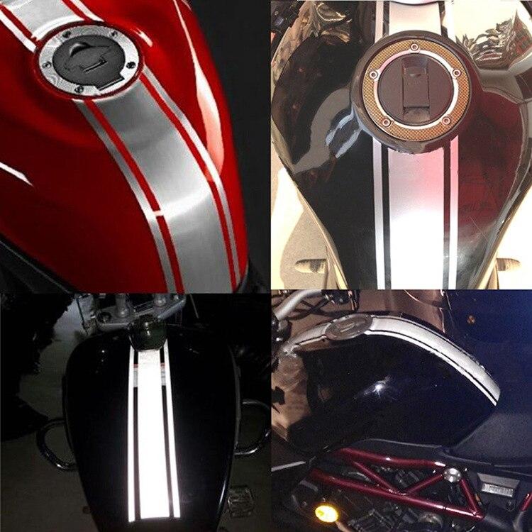50cm Diy Fuel Tank Sticker Waterproof For Racing Motorcycle