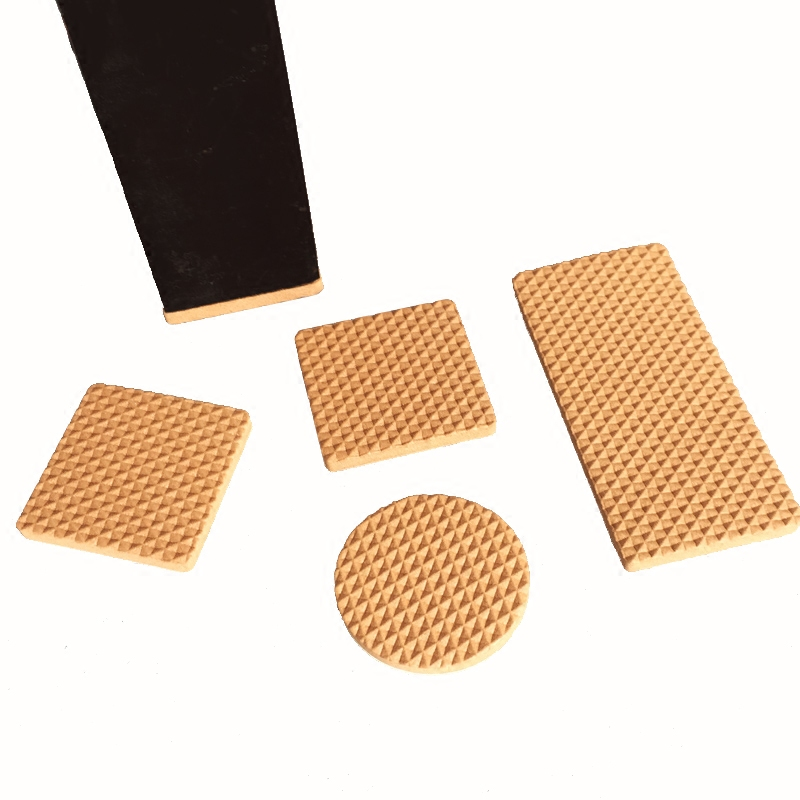 2-60pieces/lot Non-slip Self Adhesive Furniture Rubber Feet Pads Table Chair Floor Protectors Mat damper Furniture Accessorie