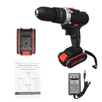 Multifunctional 48V Lithium Battery Power Drills Cordless Rechargeable Electric Drill Hand Drils Home DIY Electric Power Tools