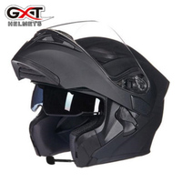 2018 New GXT Flip UP Double Lens Motorcycle Helmets G902 Open Face Motorbike Helmet With Bluetooth