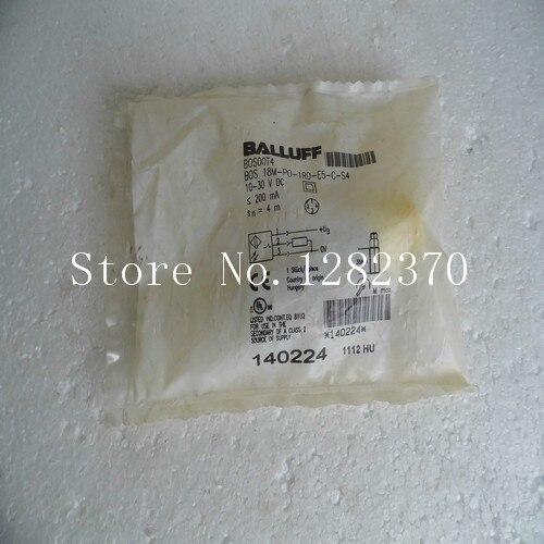 все цены на New original authentic BALLUFF sensor switch BOS 18M-PO-1RD-E5-C-S4 spot --2PCS/LOT онлайн