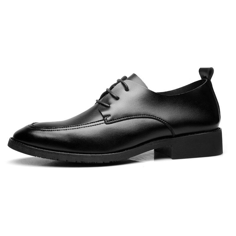 Herren Mycolen Frühling Schwarzes Heißer Kleid Leder Hochzeit Sommer Schuhe Verkauf Formale Spitz Formalen Für Männer PPE6rw