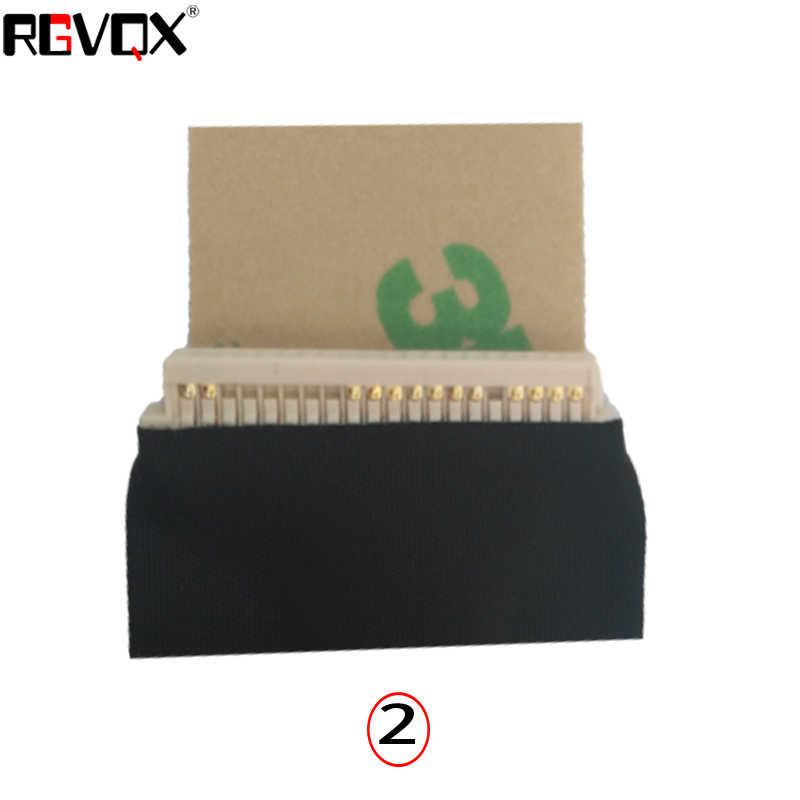 LED nova LCD Vídeo Flex Cable Para TOSHIBA L500 L500D L505 L505D LCD PN: DC02000S800 Reparo Notebook LCD LVDS CABO