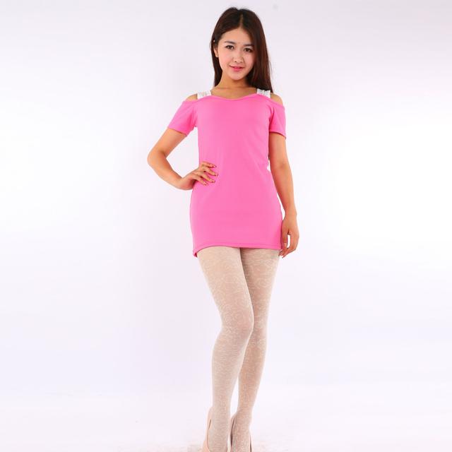 2016 Mujeres Calientes Sexy Pantimedias Otoño Invierno Nylon Medias Collant Medias de Terciopelo de Color Caramelo Paso Pie Sin Costura Femenina #1632