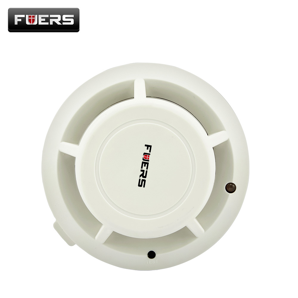 все цены на New Arrival High sensitivity Wireless Photoelectricity Smoke Detector For Home/Store/Hotel/Factory,HKPAM онлайн