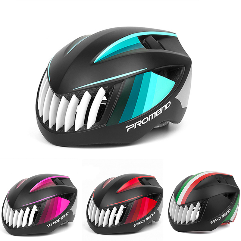 Bicycle Helmets Shark Shape Integrally-molded MTB Road Bike Helmet Ultralight Safe Cap EPS+PC Cycling Helmets casco ciclismo moon ultralight mtb road bicycle cycling pc eps helmet riding bike integrally molded sport climbing head protect bicycle