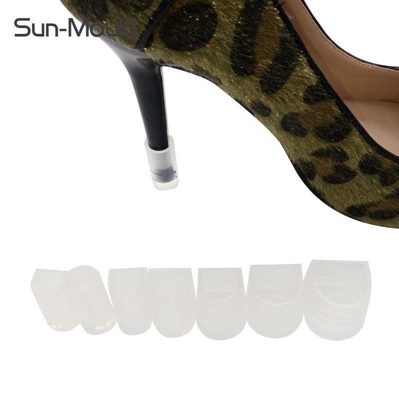 7 different size daily stiletto heel protectors
