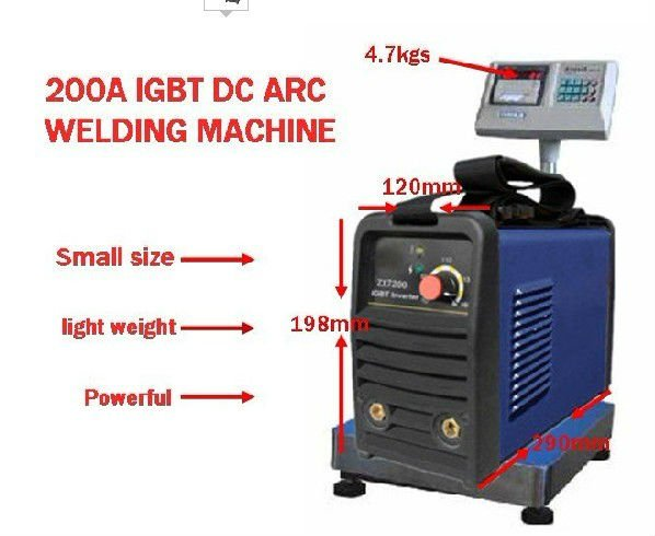 protable DIY welder suitable 3.2MM electrode IGBT inverter DC hand welding machine/welding equipment /welding tools - Wenzhou Tosense Welding Equipment Manufacture Co.,Ltd. store