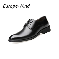 EuropeWind Brand Genuine Leather Shoes Men Oxford High Quality Comfortable Men Flats Dress Shoes Men Business