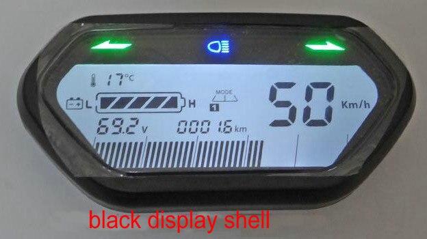 Speedometer Light/ODO/battery Level Indicator LCD DISPLAY 48v60v72v84v96v For Electric Scooter Gauge Bike Tricycle Dashboard