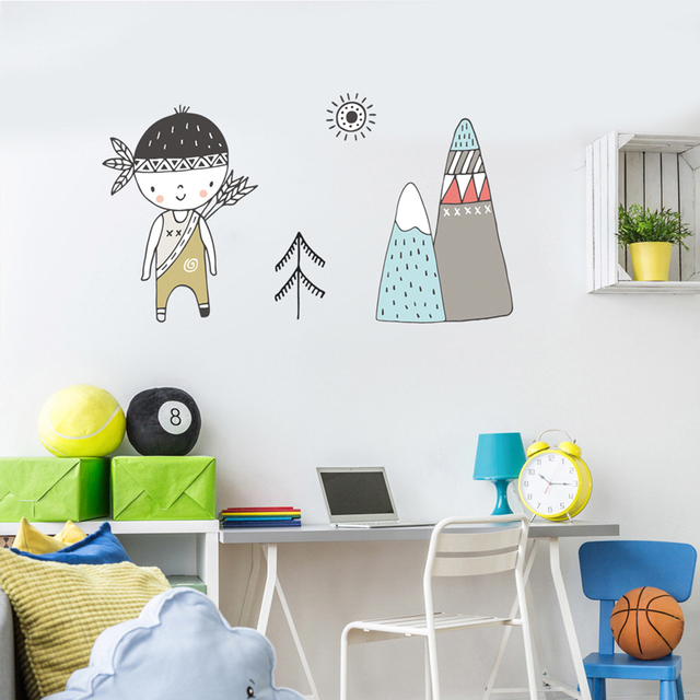 Little Indian – Wall Sticker