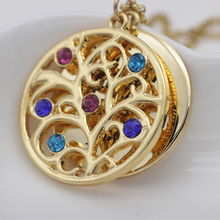 Personality Family Tree Pendant Necklace with Birthstones 2016 New Arrival Long Birthstone Necklaces Custom Made Any Name YP2547 стоимость