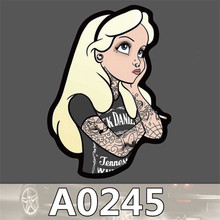A0245 Spoof Anime Punk Cool Sticker for Car Laptop Luggage Fridge Skateboard Graffiti Notebook Scrapbook Scooter Stickers Toy