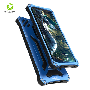 Shockproof waterproof Rugged Military Aluminum Bumper Frame for Samsung Galaxy Note 8 S8 S9 Plus Armor Sealed Protective Cover фото
