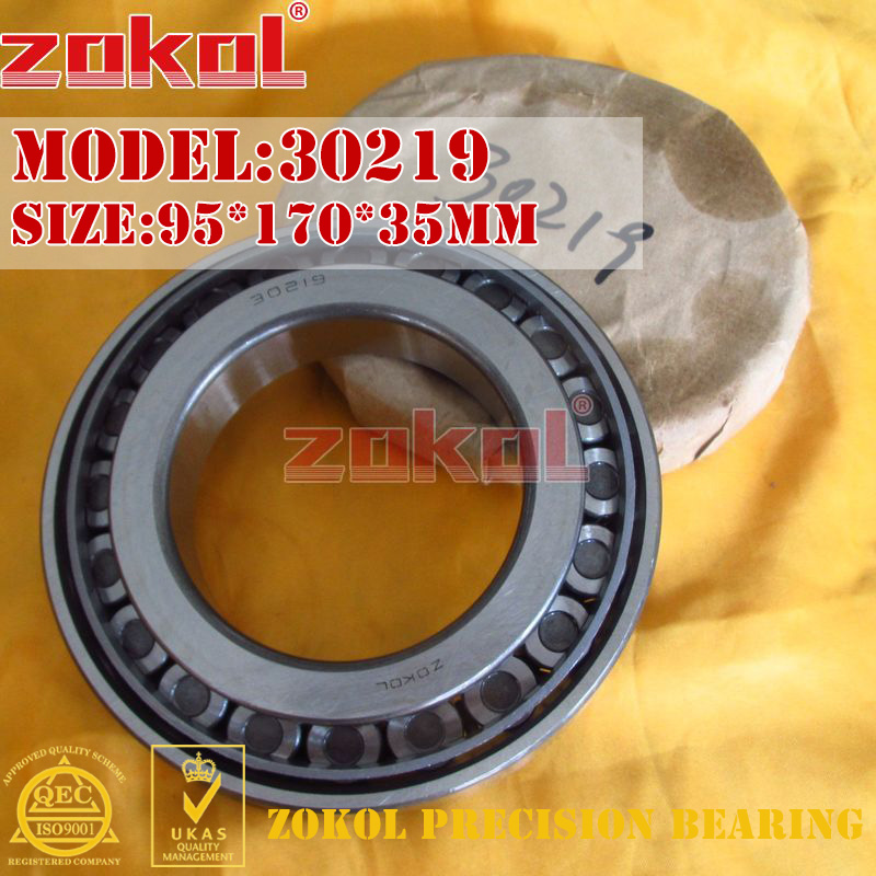 ZOKOL bearing 30219 7219E Tapered Roller Bearing  95*170*35mm na4910 heavy duty needle roller bearing entity needle bearing with inner ring 4524910 size 50 72 22