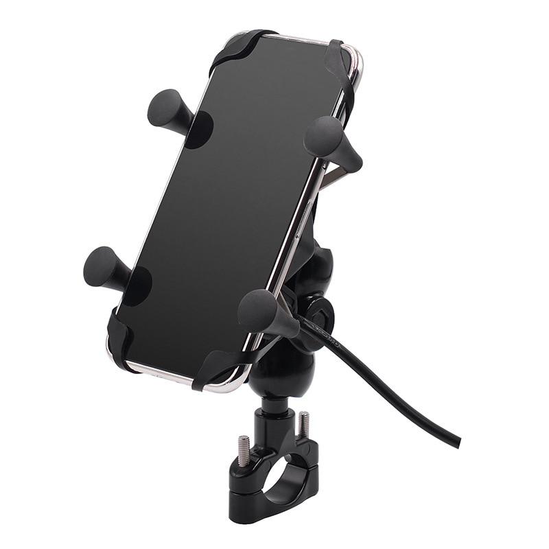 moto ciclo suporte do telefone com carregador 01