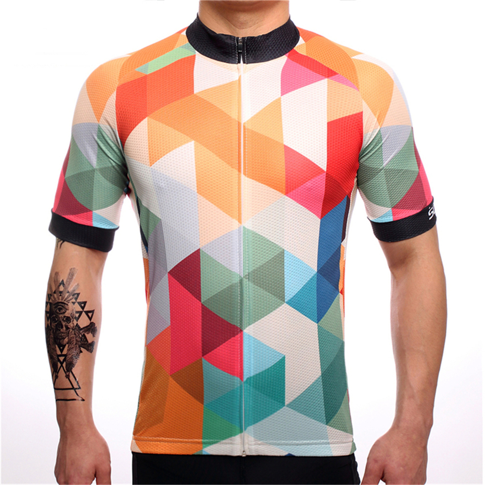 FUALRNY 2018 Quick Dry Cycling Jersey Summer Men Mtb Bicycle Short Clothing Ropa Bicicleta Maillot Ciclismo Bike Clothes