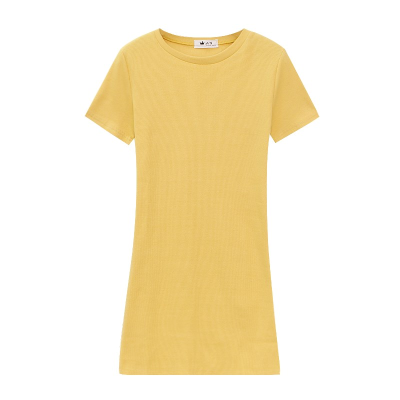 Ladies Sports Tennis  Girls Dress The Chic Wild Color In The Long Paragraph Short-sleeved Dress Female Tennis Dress Female