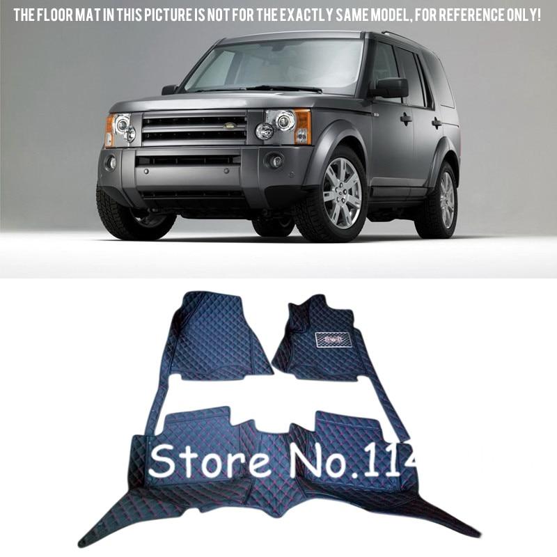для Ленд Ровер ЛР3 в Discovery 3 L319 5 мест 2004 - 2009 стайлинга автомобилей интерьера черный коврики колодки
