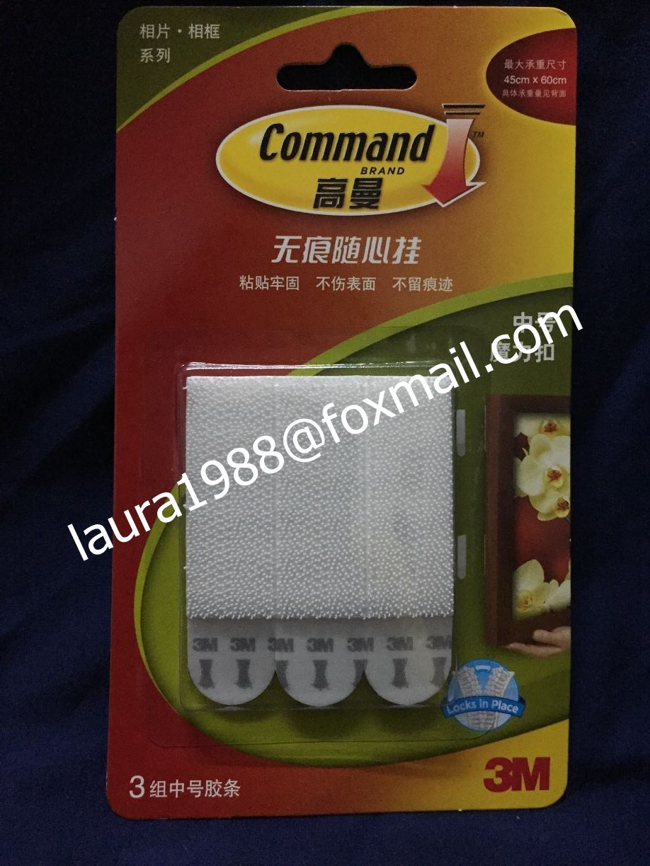 24pcs4packs Medium 3m Command Picture Hanging Strips Command Damage