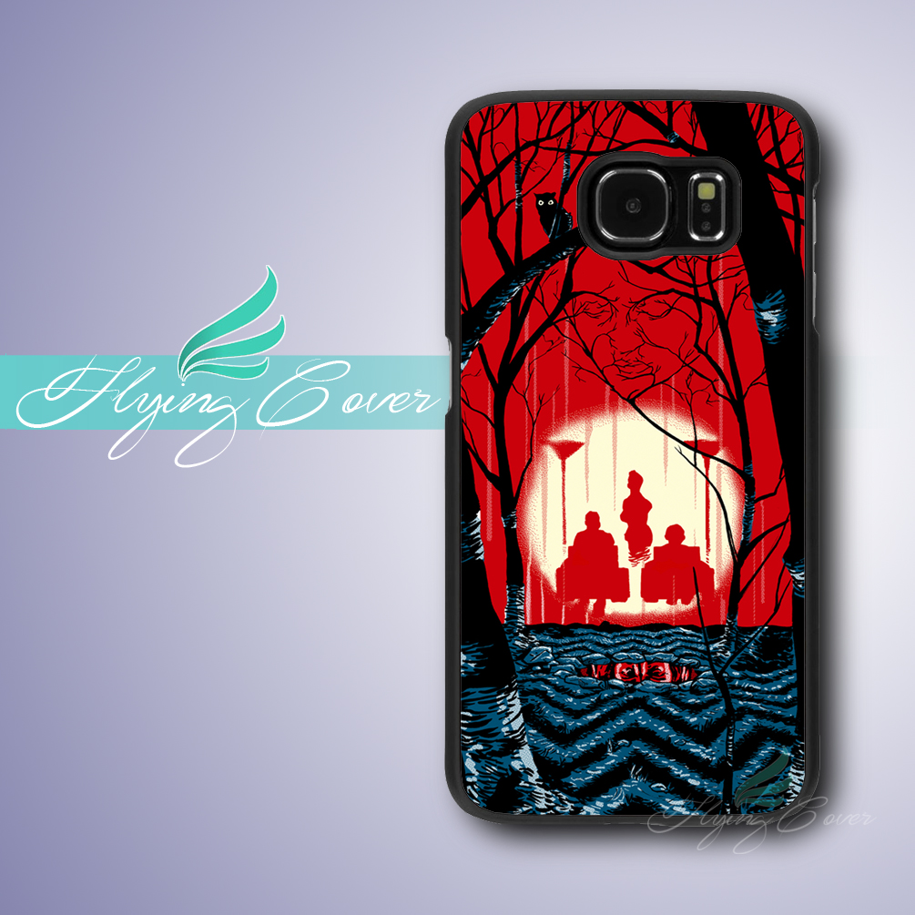 Fundas Welcome to Twin Peaks Case for Samsung Galaxy Grand Prime Case for Samsung Galaxy S3 S4 S5 S6 S7 Active Mini Case.