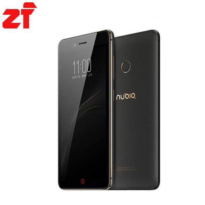 "In Stock ZTE Nubia Z11 mini S 4G LTE 5.2"" MSM8953 Octa Core 2.0GHz 4GB 64GB 1920X1080 Dual SIM 23.0 MP Fingerprint Mobile Phone"