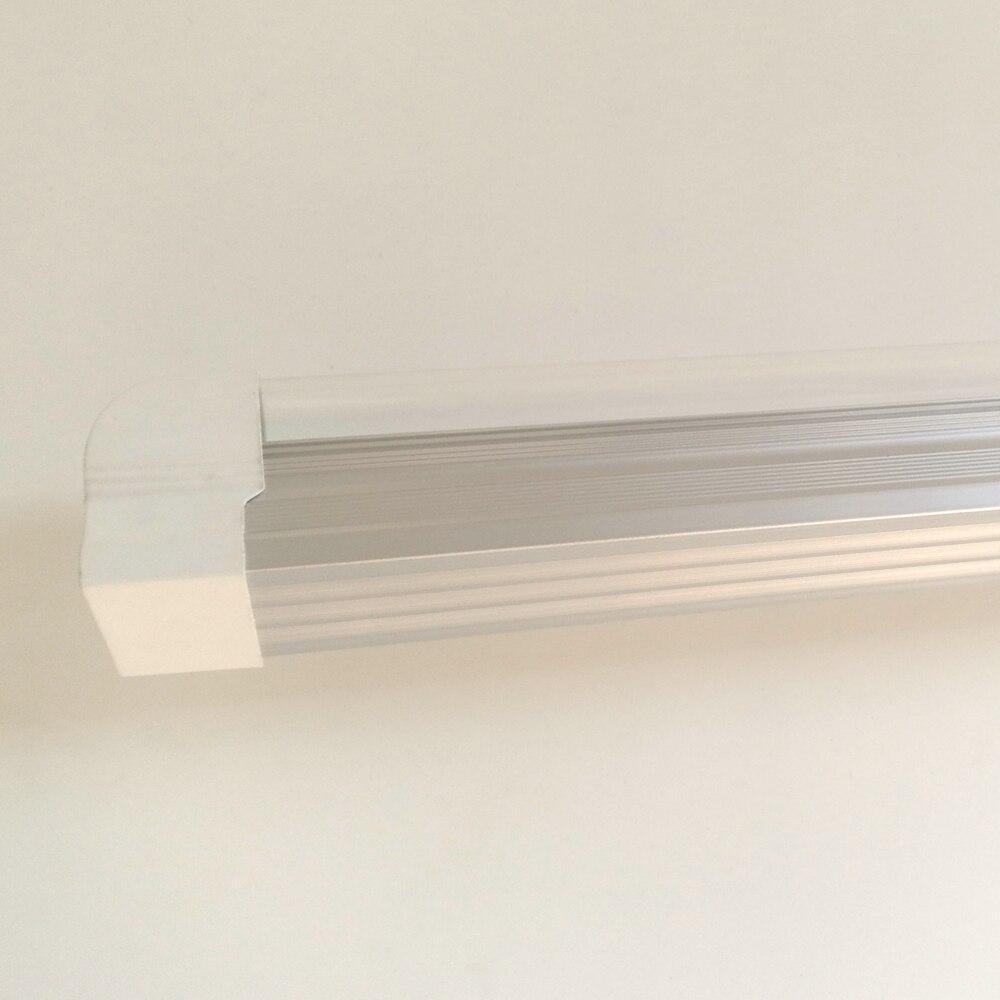 4-100/paquet tube de lumière LED 2ft 3ft 4ft 5ft 6ft 8ft Super lumineux T8 intégré ampoule Double rangée luminaire Double barre d'éclairage - 6