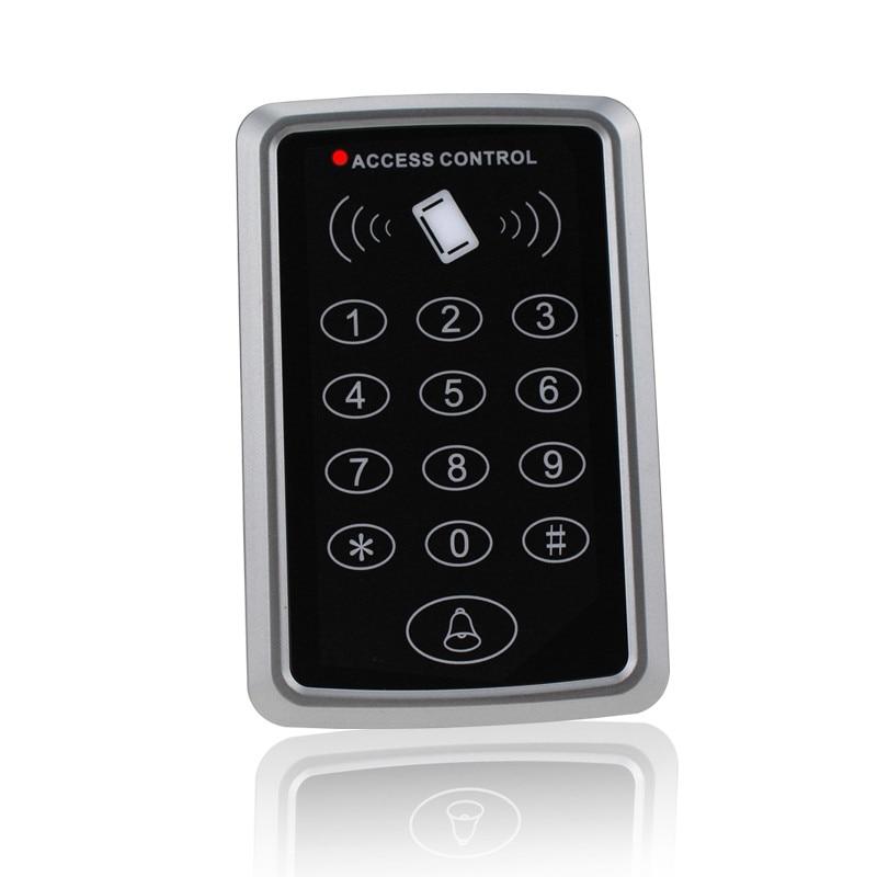 Clavier de contrôle d'accès autonome Rfid, 125KHz, lecteur de cartes EM, avec 10 touches, verrouillage de porte sans clé pour système de sécurité d'entrée