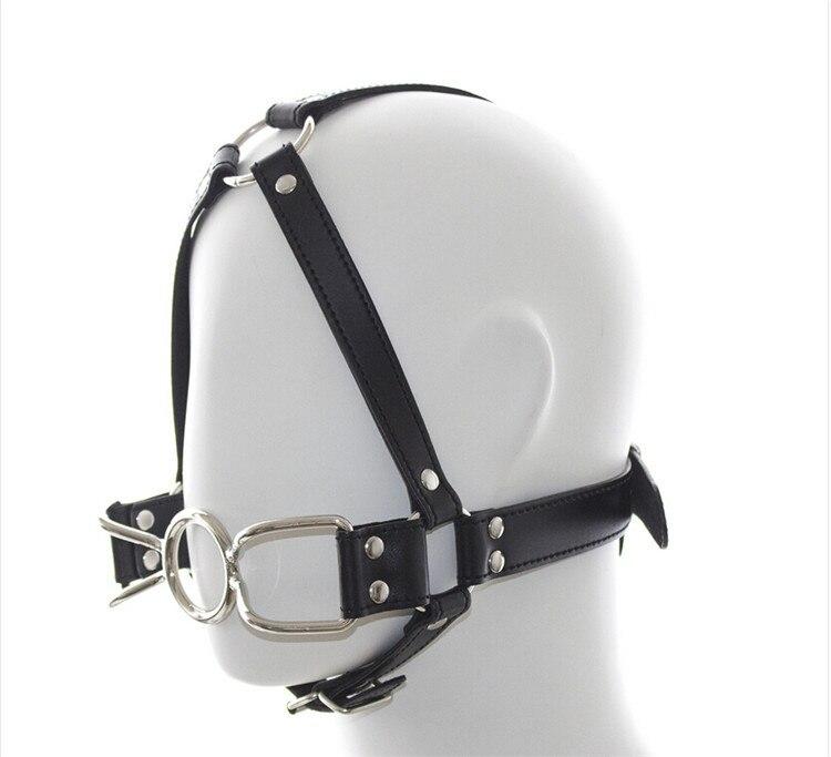 Headgear blowjob strap