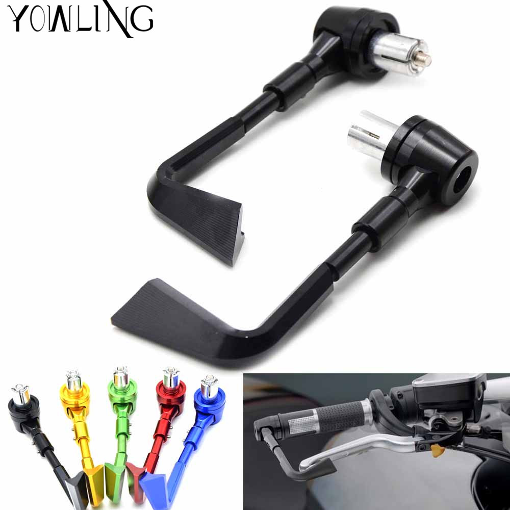 7/822mm CNC Handlebar Protector Brake Clutch Protect Lever Guard Proguard for Benelli BN600 BJ600 Triumph Tiger 800 Daytona 675 for triumph tiger 800 tiger 1050 tiger explorer 1200 easy pull clutch cable system