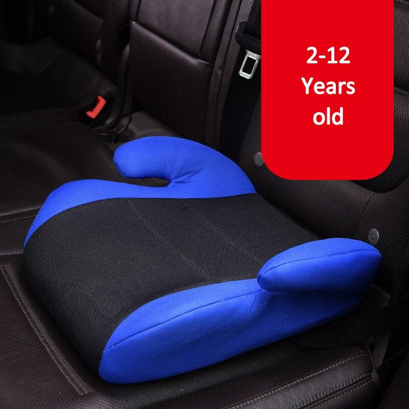 Siège auto bébé enfant en bas âge voiture sièges de sécurité anti-dérapant Portable confortable voyage Pad chaise coussin enfants 2-12 ans