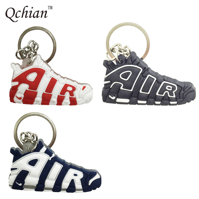 AIR Keychain for Woman Gift Silicone Sneaker Shoes Key Chains Holder Jordan  Keychains for Men Kids e86df3d2b6