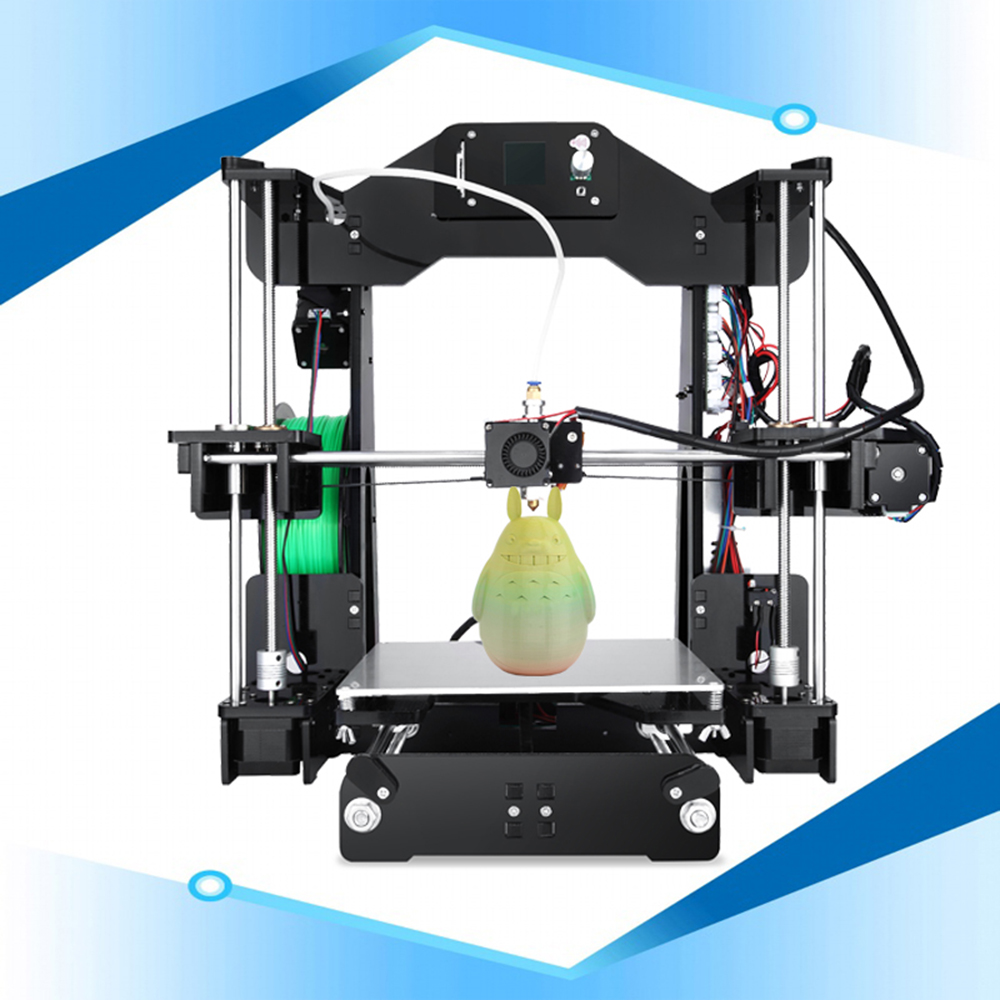 2018 Newest Sinis 3D Printer Upgraded i3 3D Printer DIY Kit with Smart Leveling High Precision Cheap Laser Engraving 3D Printers high precision new model 2d 600x900mm cheap laser engraving machine