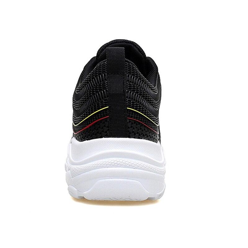 Black Plein Chaussures Hombre En Air Zapatillas De Chunky Mesh Casual Hommes Sneakers Marche Papa Respirant Merkmak Sneakers Jaune white qwc7ARaPP