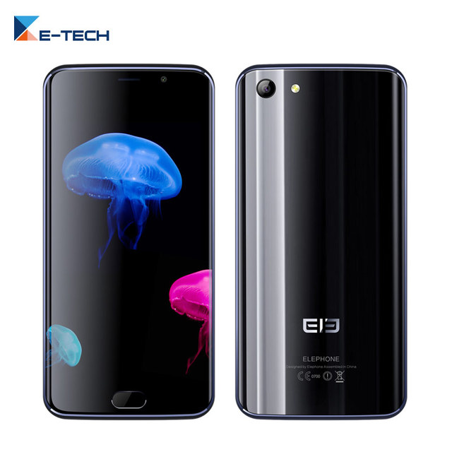 Original Elephone S7 Helio X20 Deca Core Smartphone 5.5 inch CellPhone Android 6.0 13.0MP OTG 4G LTE Unlocked Mobile Phone