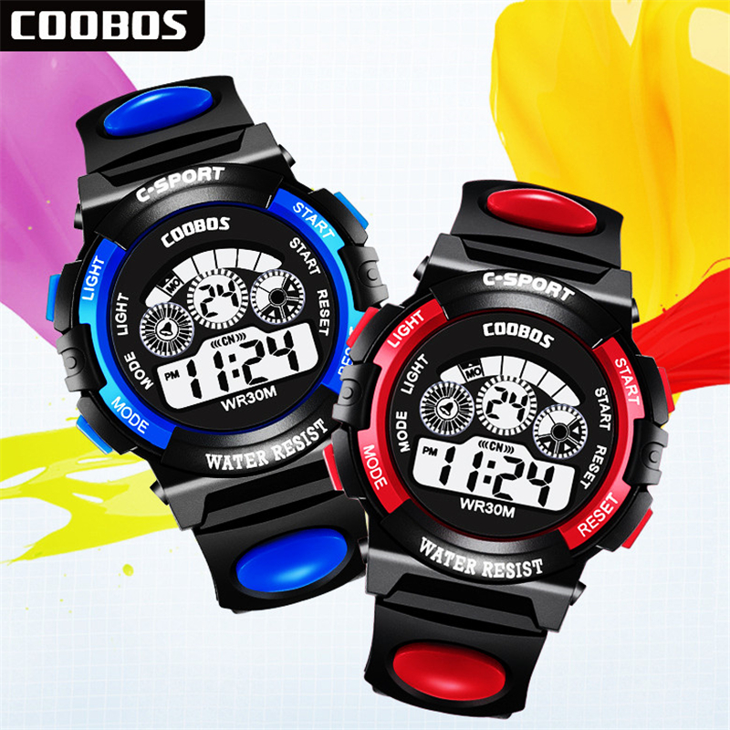 Military Alarm Clock Kid Electronic Watch Multifunction Children's Watches Child Sport Boy Girl Gift LED Digital Automatic Date