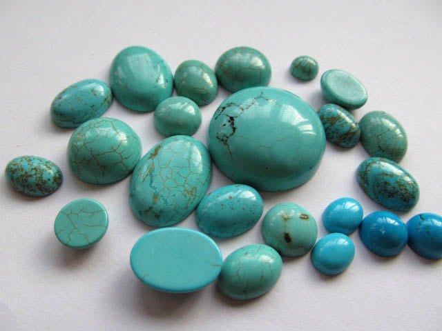 wholesale bulk 6-10mm 150pcs cabochons turquoise roundel coin blue green jewelry beads aqua profix dark green 100m 0 10mm 6 50kg