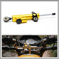 for CNC Damper Steering StabilizerLinear Reversed Safety Control Over for ktm duke 200 accessories m109r handguards for motorcyc