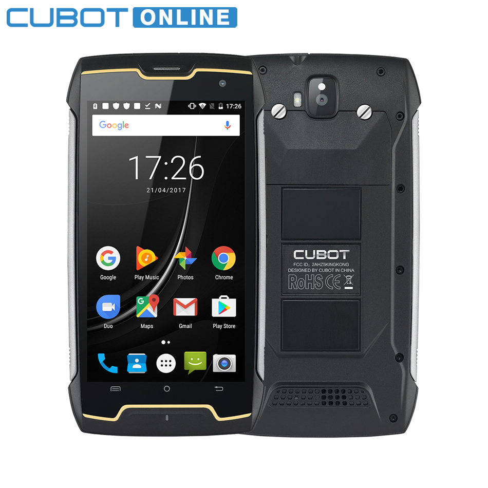 Cubot KingKong IP68 Waterproof Smartphone MT6580 Quad Core 2GB RAM 16GB ROM Mobile Phone 5 0