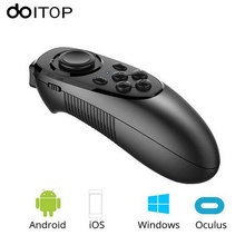 DOITOP Bluetooth Wireless Gamepad VR Controller IOS Android Phones Joystick Remote Control for Mobilephone VR Box Smart TV B4