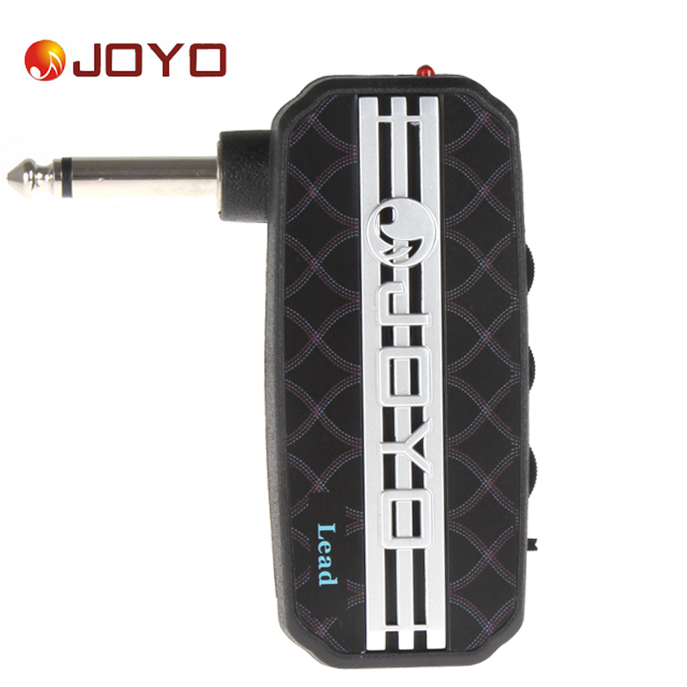 JOYO Ja-03 Lead Portable Mini Guitar Amplifier Plug Headphone Amp Clean / Distortion / Delay Sound Effect with Earphone Output joyo ja 03 mini guitar amplifier with metal sound effect