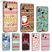 Lavaza And happy new year Christmas Soft Silicone Cover for Huawei Mate 10 20 P8 P9 P10 P20 P30 Lite Pro P Smart 2019 TPU Case(China)