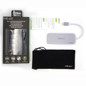 Image 5 - MINIX NEO C S2 Hub USB USB C SSD multipuerto almacenamiento tipo C Hub HDMI USB 3,0 120G/240G transferencias de alta velocidad todo en uno para MacBook