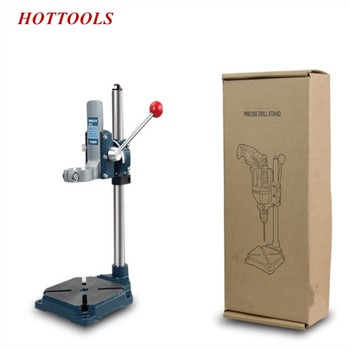 Electric Drill Bracket Multifunctional Electric Support Bench Pistol Drill Universal Rack Cast Iron Flat Vice Tool