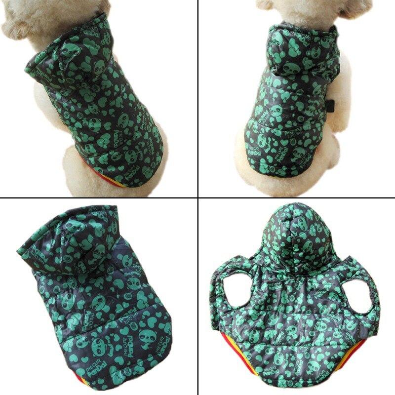 2017 Fashion Dog Clothes Hot Sale Warm Wholesale Retail Designer Pet Dog Clothing Jacket Coat -4 Colors