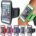 Esporte arm band case para iphone 6 6 s ginásio à prova d' água para samsung galaxy s3 s4 s5 s6/edge s7 xiaomi redmimi5 pu tampa do telefone de couro