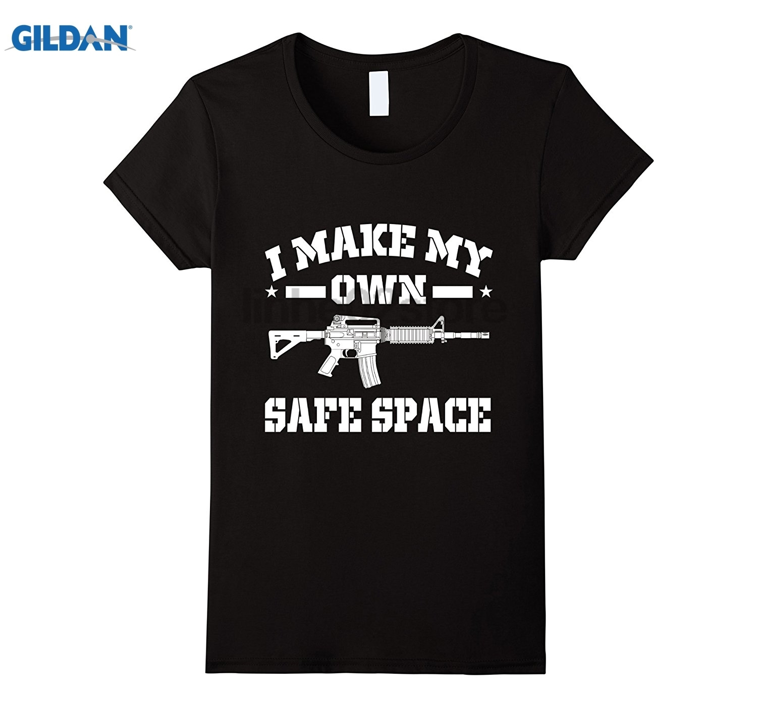 GILDAN I Make My Own Safe Space T-shirt Dress female T-shirt glasses Womens T-shirt